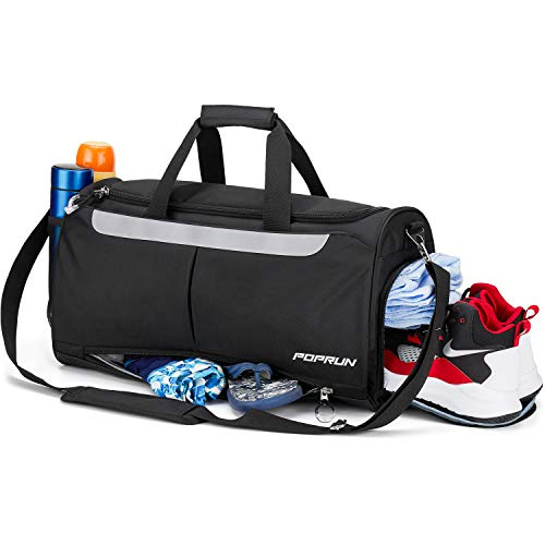 Poprun Sports Gym Bag Workout Duffel